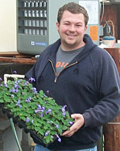 In addition to flowers and vegetables, Ian Owens, Owens Garden Center, will be happy to help you discuss trees and shrubs, and to work with you in planning and planting your landscaping for home or business.